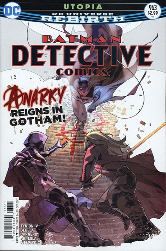 Cover of Detective Comics (Vol 3) #963. One of 250,000 Vintage American Comics on sale from Krypton!