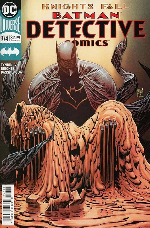 Cover of Detective Comics (Vol 3) #974. One of 250,000 Vintage American Comics on sale from Krypton!
