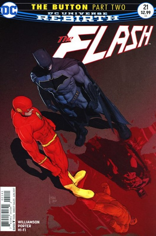 Cover of Flash (Vol 7) #21. One of 250,000 Vintage American Comics on sale from Krypton!