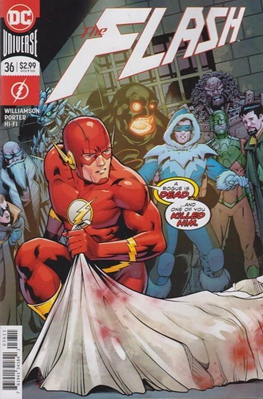 Cover of Flash (Vol 7) #36. One of 250,000 Vintage American Comics on sale from Krypton!
