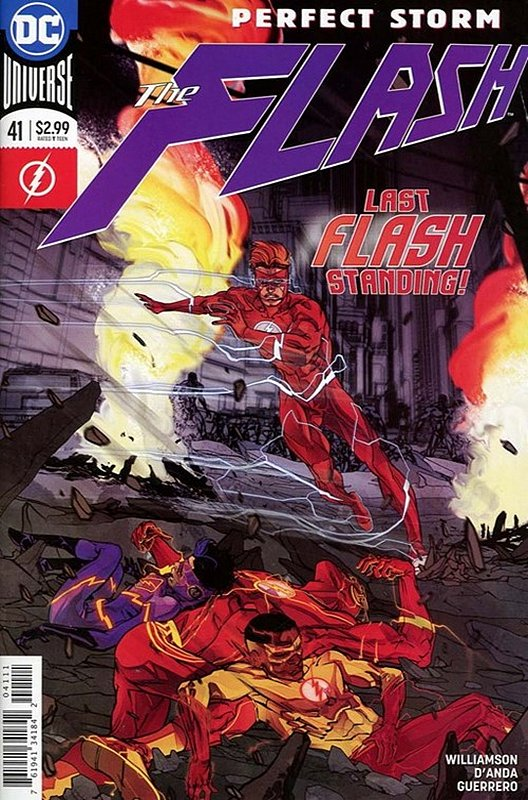 Cover of Flash (Vol 7) #41. One of 250,000 Vintage American Comics on sale from Krypton!