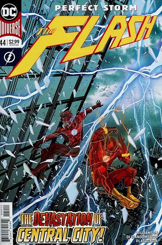 Cover of Flash (Vol 7) #44. One of 250,000 Vintage American Comics on sale from Krypton!