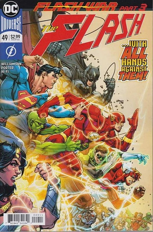 Cover of Flash (Vol 7) #49. One of 250,000 Vintage American Comics on sale from Krypton!
