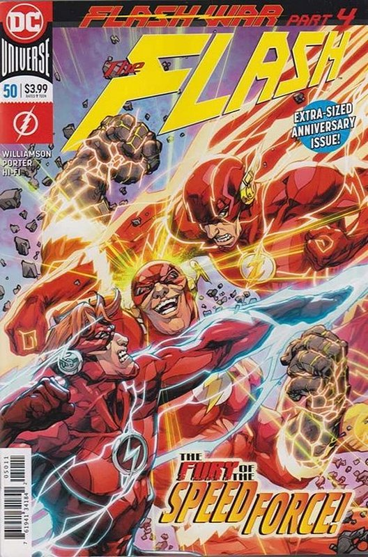 Cover of Flash (Vol 7) #50. One of 250,000 Vintage American Comics on sale from Krypton!
