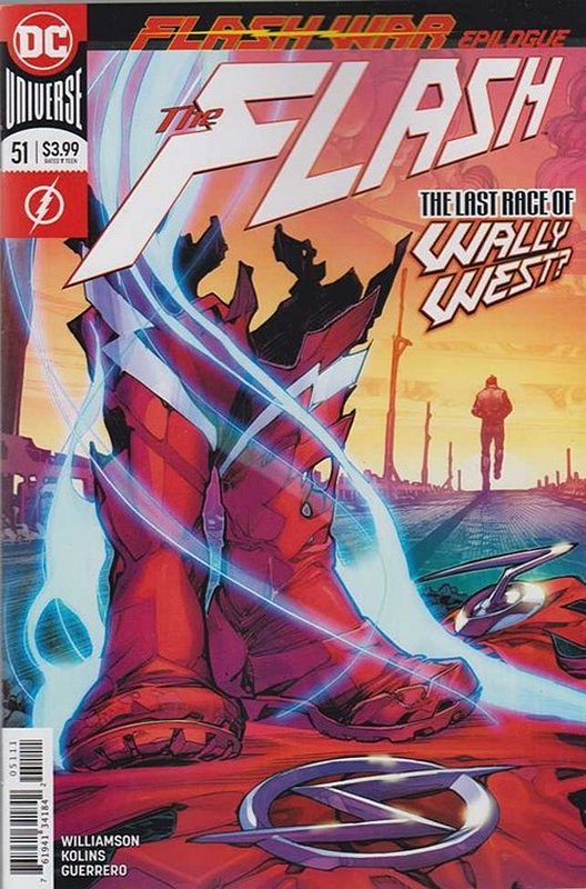 Cover of Flash (Vol 7) #51. One of 250,000 Vintage American Comics on sale from Krypton!