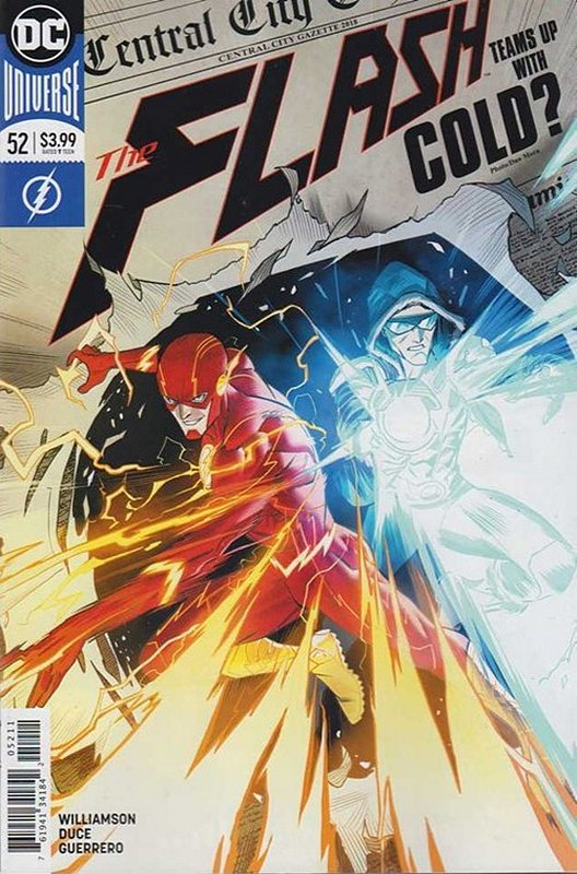 Cover of Flash (Vol 7) #52. One of 250,000 Vintage American Comics on sale from Krypton!