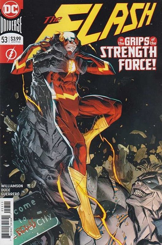 Cover of Flash (Vol 7) #53. One of 250,000 Vintage American Comics on sale from Krypton!