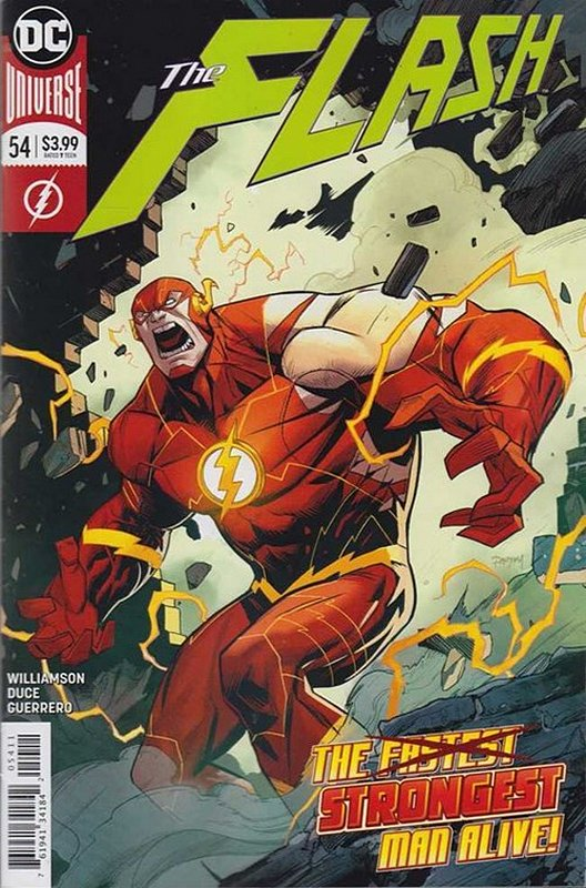Cover of Flash (Vol 7) #54. One of 250,000 Vintage American Comics on sale from Krypton!