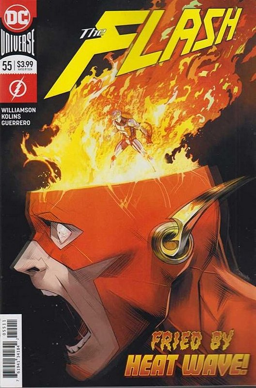 Cover of Flash (Vol 7) #55. One of 250,000 Vintage American Comics on sale from Krypton!