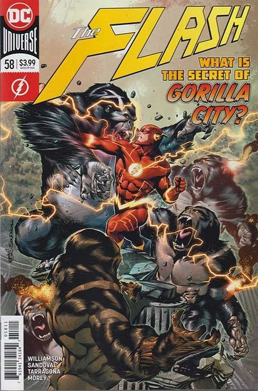 Cover of Flash (Vol 7) #58. One of 250,000 Vintage American Comics on sale from Krypton!
