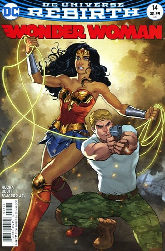 Cover of Wonder Woman (Vol 5) #14. One of 250,000 Vintage American Comics on sale from Krypton!