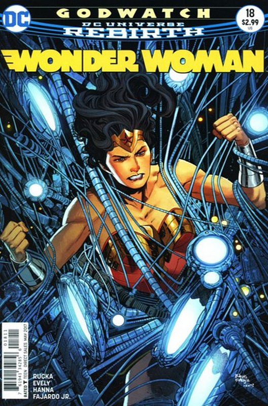 Cover of Wonder Woman (Vol 5) #18. One of 250,000 Vintage American Comics on sale from Krypton!