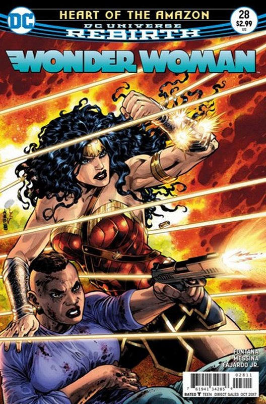 Cover of Wonder Woman (Vol 5) #28. One of 250,000 Vintage American Comics on sale from Krypton!