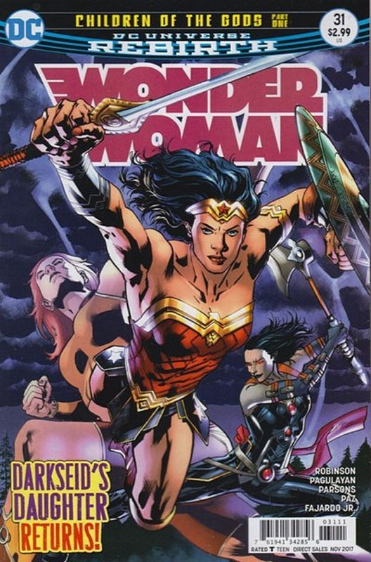 Cover of Wonder Woman (Vol 5) #31. One of 250,000 Vintage American Comics on sale from Krypton!