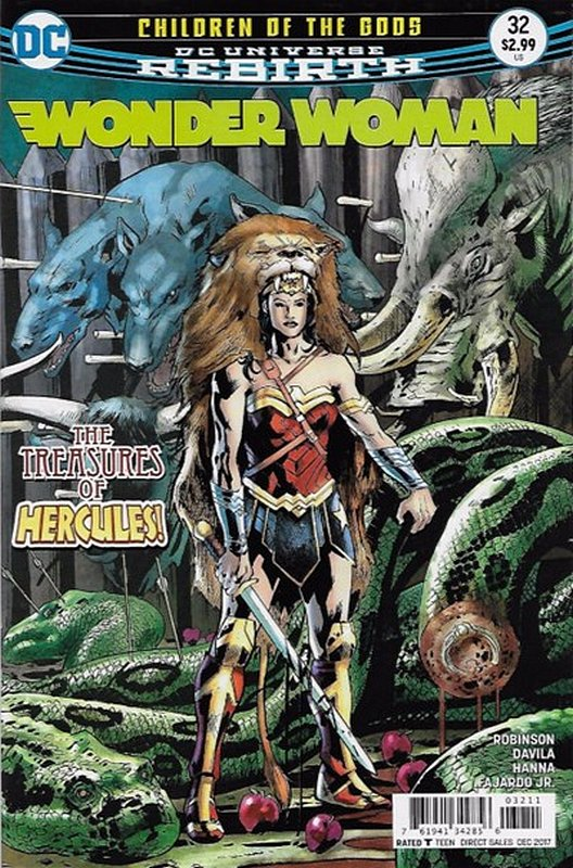 Cover of Wonder Woman (Vol 5) #32. One of 250,000 Vintage American Comics on sale from Krypton!