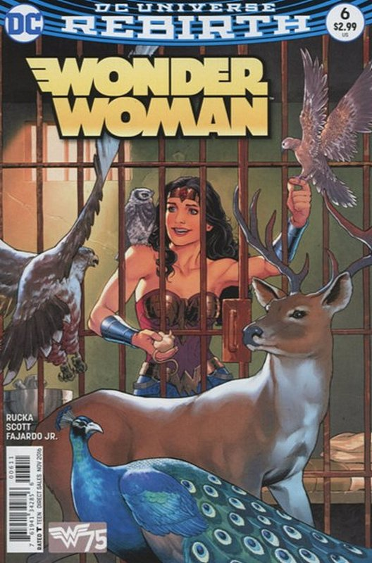 Cover of Wonder Woman (Vol 5) #6. One of 250,000 Vintage American Comics on sale from Krypton!