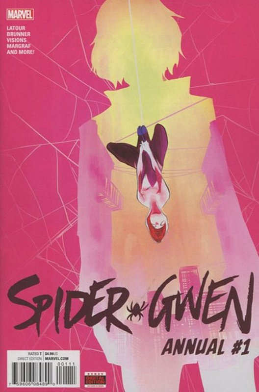Cover of Spider-Gwen Annual (2016) #1. One of 250,000 Vintage American Comics on sale from Krypton!