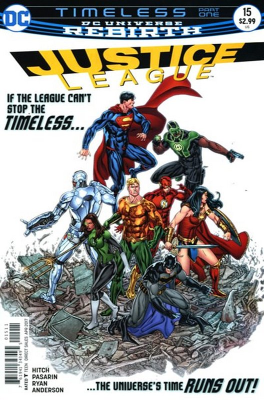Cover of Justice League (Vol 3) #15. One of 250,000 Vintage American Comics on sale from Krypton!