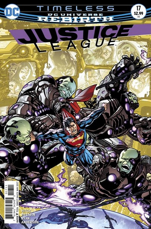 Cover of Justice League (Vol 3) #17. One of 250,000 Vintage American Comics on sale from Krypton!