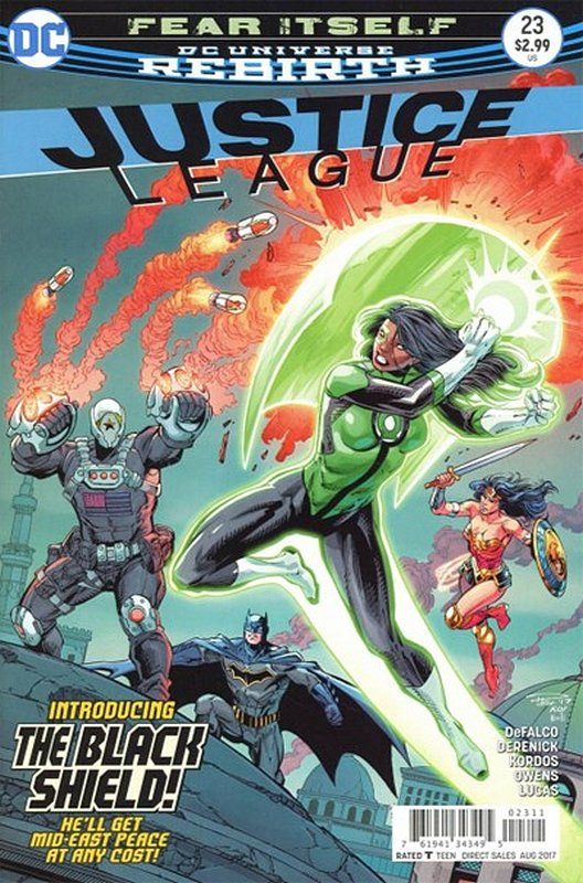 Cover of Justice League (Vol 3) #23. One of 250,000 Vintage American Comics on sale from Krypton!