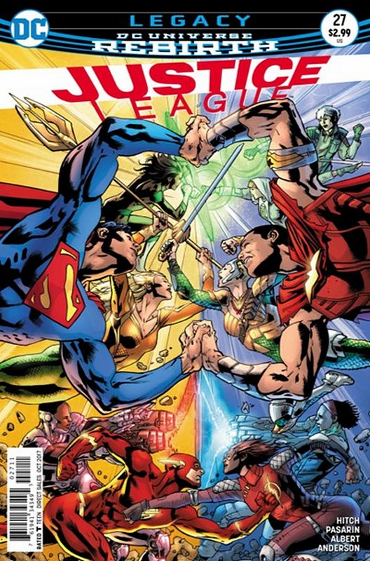 Cover of Justice League (Vol 3) #27. One of 250,000 Vintage American Comics on sale from Krypton!