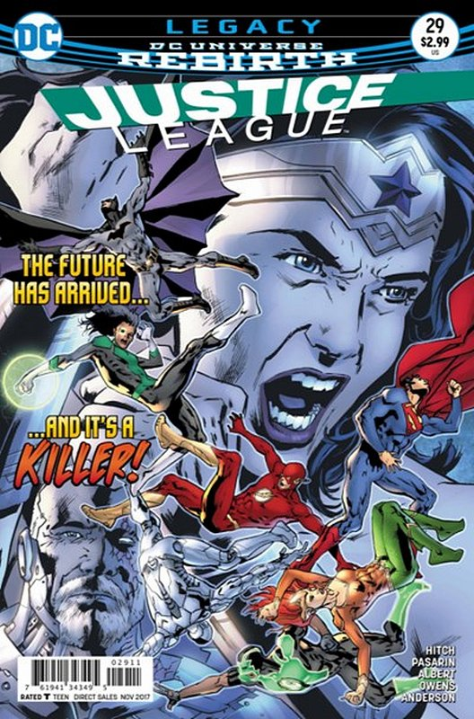 Cover of Justice League (Vol 3) #29. One of 250,000 Vintage American Comics on sale from Krypton!