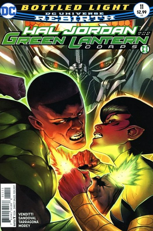 Cover of Hal Jordan & GL Corps (Vol 1) #11. One of 250,000 Vintage American Comics on sale from Krypton!