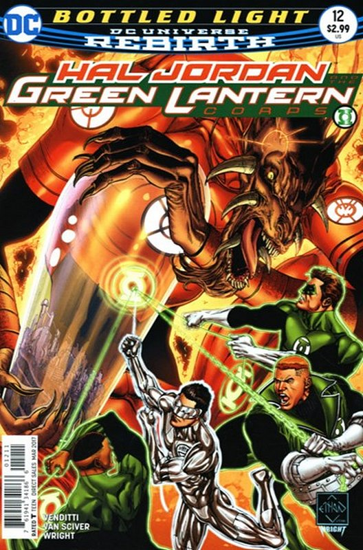 Cover of Hal Jordan & GL Corps (Vol 1) #12. One of 250,000 Vintage American Comics on sale from Krypton!