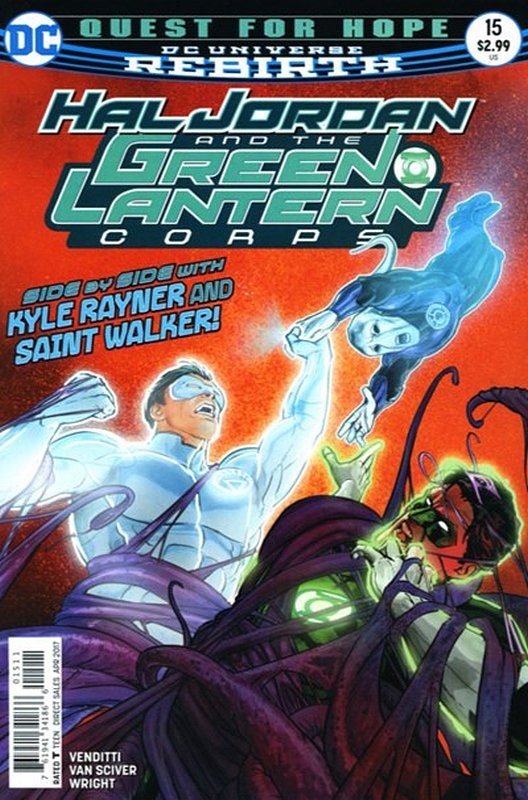 Cover of Hal Jordan & GL Corps (Vol 1) #15. One of 250,000 Vintage American Comics on sale from Krypton!