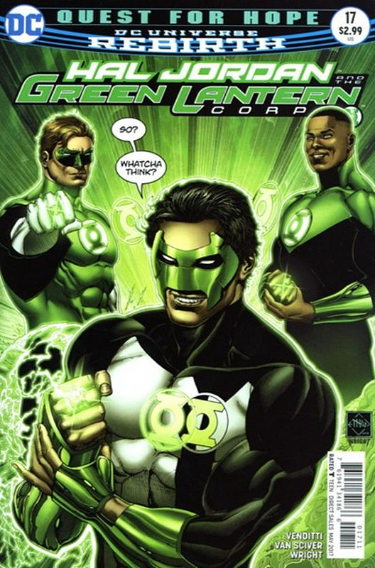 Cover of Hal Jordan & GL Corps (Vol 1) #17. One of 250,000 Vintage American Comics on sale from Krypton!
