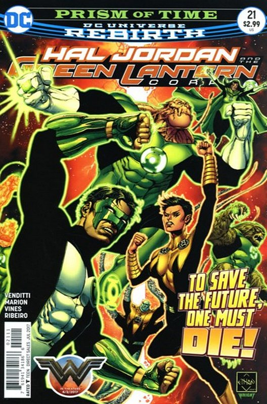 Cover of Hal Jordan & GL Corps (Vol 1) #21. One of 250,000 Vintage American Comics on sale from Krypton!