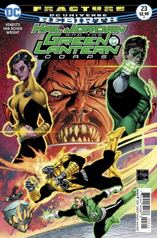 Cover of Hal Jordan & GL Corps (Vol 1) #23. One of 250,000 Vintage American Comics on sale from Krypton!