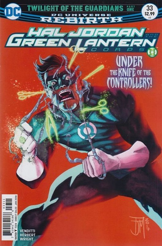 Cover of Hal Jordan & GL Corps (Vol 1) #33. One of 250,000 Vintage American Comics on sale from Krypton!