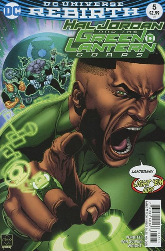 Cover of Hal Jordan & GL Corps (Vol 1) #5. One of 250,000 Vintage American Comics on sale from Krypton!