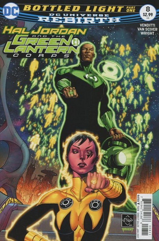 Cover of Hal Jordan & GL Corps (Vol 1) #8. One of 250,000 Vintage American Comics on sale from Krypton!