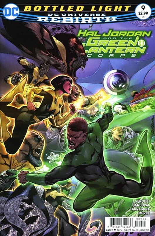 Cover of Hal Jordan & GL Corps (Vol 1) #9. One of 250,000 Vintage American Comics on sale from Krypton!