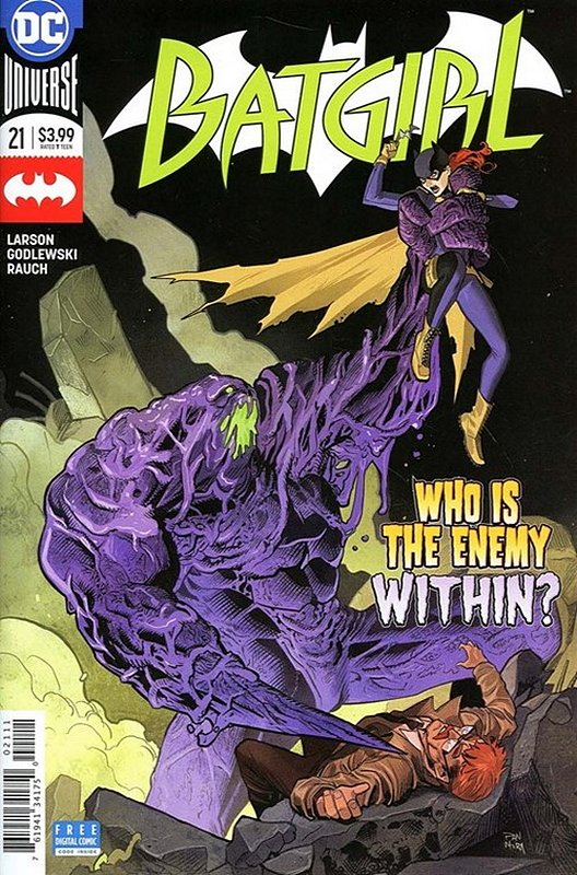 Cover of Batgirl (Vol 4) #21. One of 250,000 Vintage American Comics on sale from Krypton!