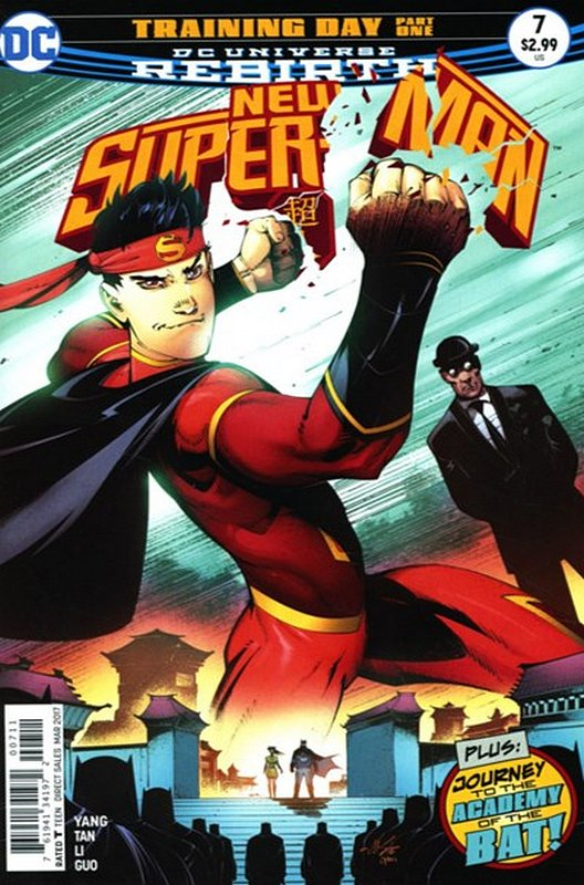 Cover of New Super-man (Vol 1) #7. One of 250,000 Vintage American Comics on sale from Krypton!