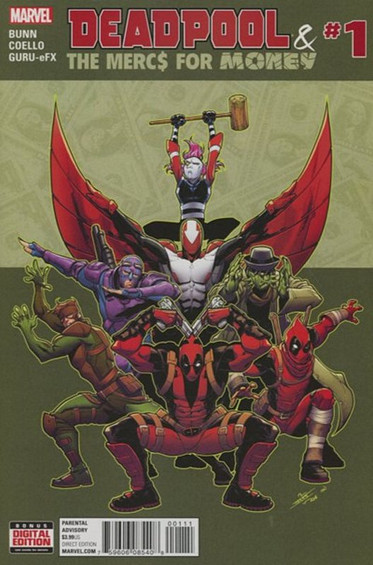 Cover of Deadpool & Mercs for Money (Vol 1) #1. One of 250,000 Vintage American Comics on sale from Krypton!