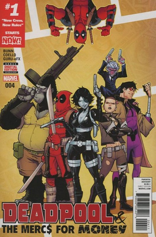 Cover of Deadpool & Mercs for Money (Vol 1) #4. One of 250,000 Vintage American Comics on sale from Krypton!