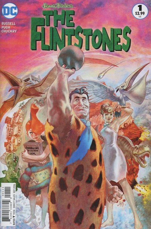 Cover of Flintstones (Vol 1) #1. One of 250,000 Vintage American Comics on sale from Krypton!