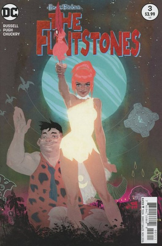 Cover of Flintstones (Vol 1) #3. One of 250,000 Vintage American Comics on sale from Krypton!