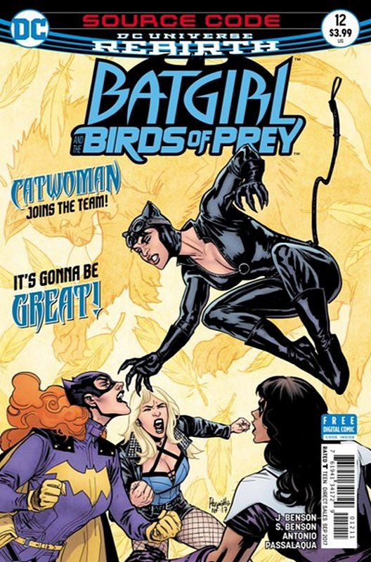 Cover of Batgirl & Birds of Prey (Vol 1) #12. One of 250,000 Vintage American Comics on sale from Krypton!