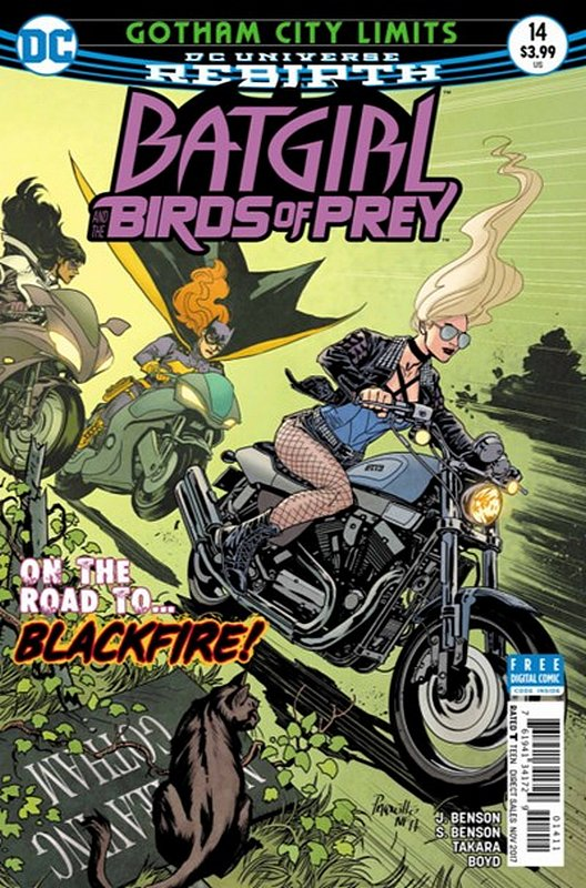 Cover of Batgirl & Birds of Prey (Vol 1) #14. One of 250,000 Vintage American Comics on sale from Krypton!