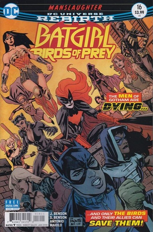 Cover of Batgirl & Birds of Prey (Vol 1) #16. One of 250,000 Vintage American Comics on sale from Krypton!