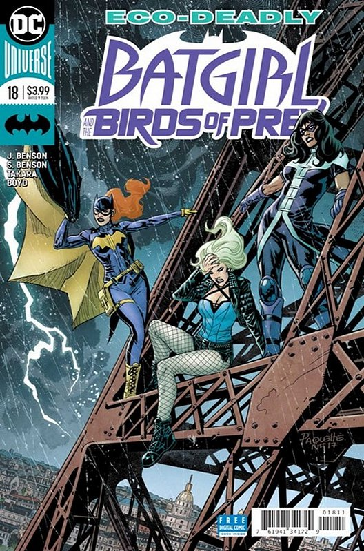 Cover of Batgirl & Birds of Prey (Vol 1) #18. One of 250,000 Vintage American Comics on sale from Krypton!