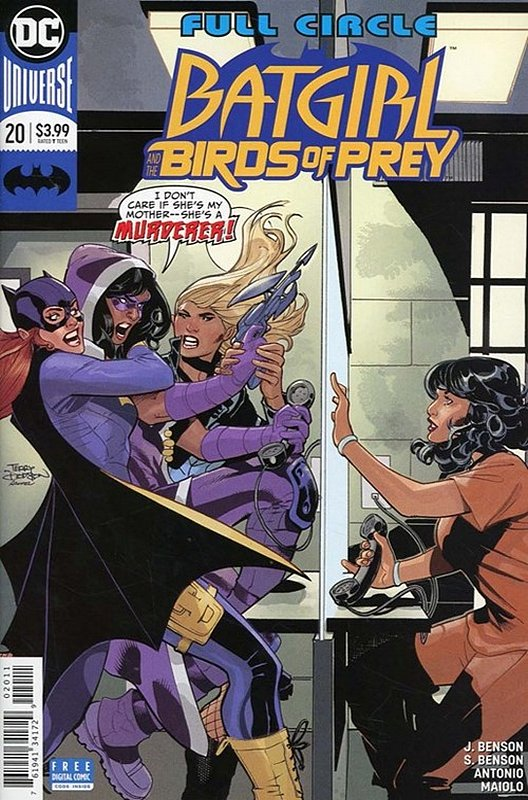 Cover of Batgirl & Birds of Prey (Vol 1) #20. One of 250,000 Vintage American Comics on sale from Krypton!