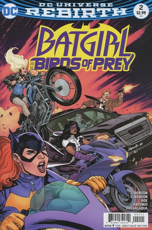 Cover of Batgirl & Birds of Prey (Vol 1) #2. One of 250,000 Vintage American Comics on sale from Krypton!