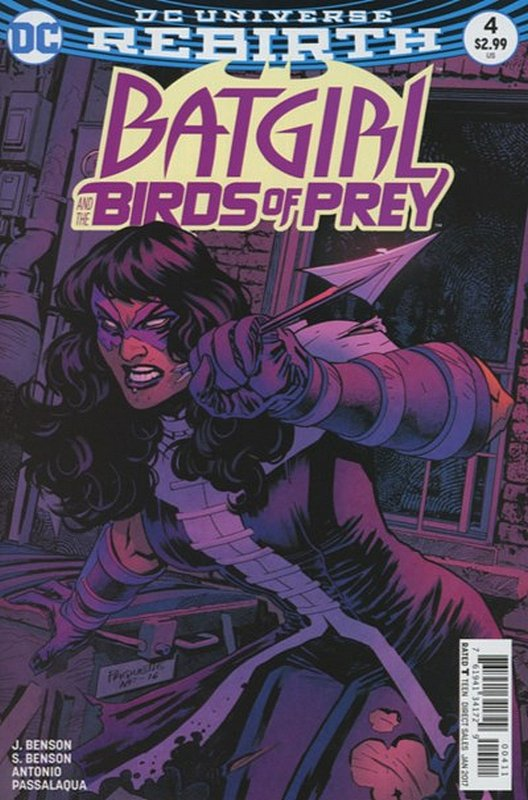 Cover of Batgirl & Birds of Prey (Vol 1) #4. One of 250,000 Vintage American Comics on sale from Krypton!