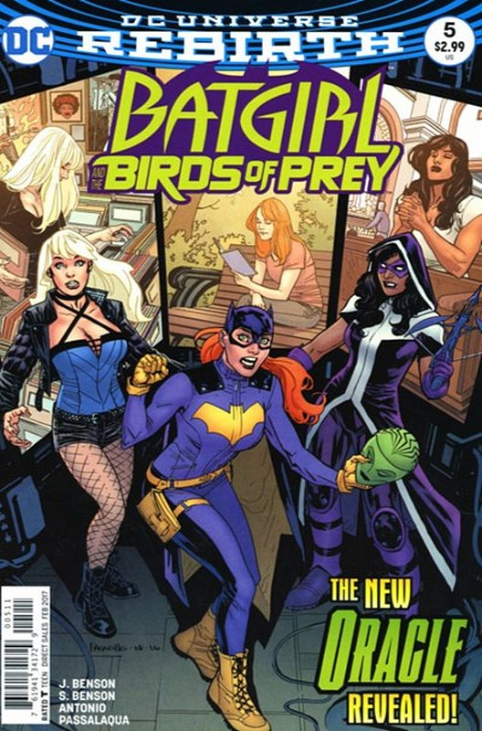 Cover of Batgirl & Birds of Prey (Vol 1) #5. One of 250,000 Vintage American Comics on sale from Krypton!